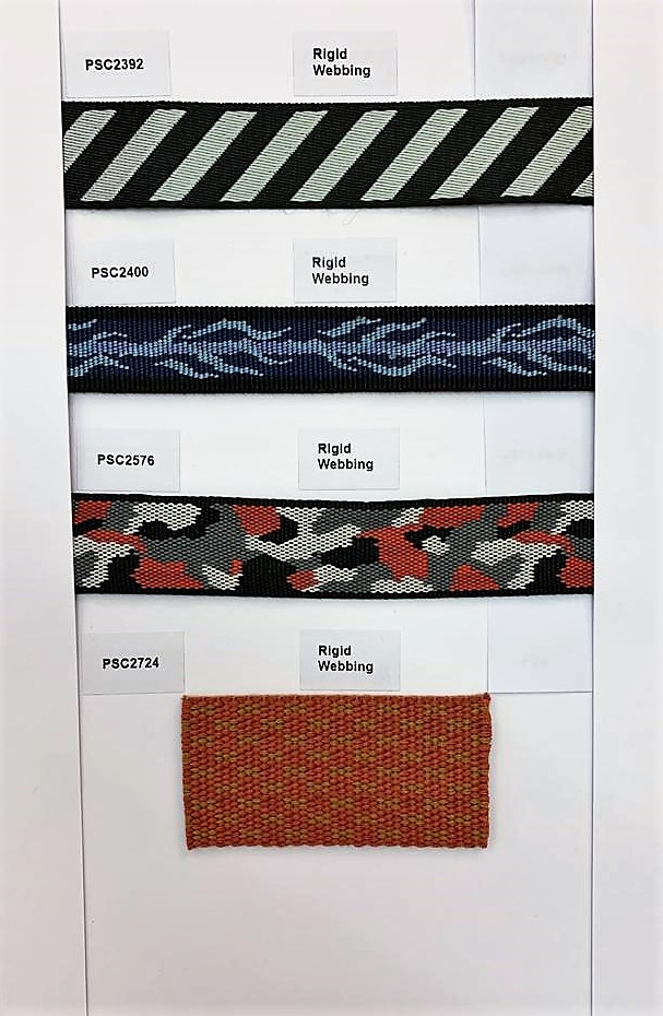 Check out our Products page for more information on our Webbing Trims