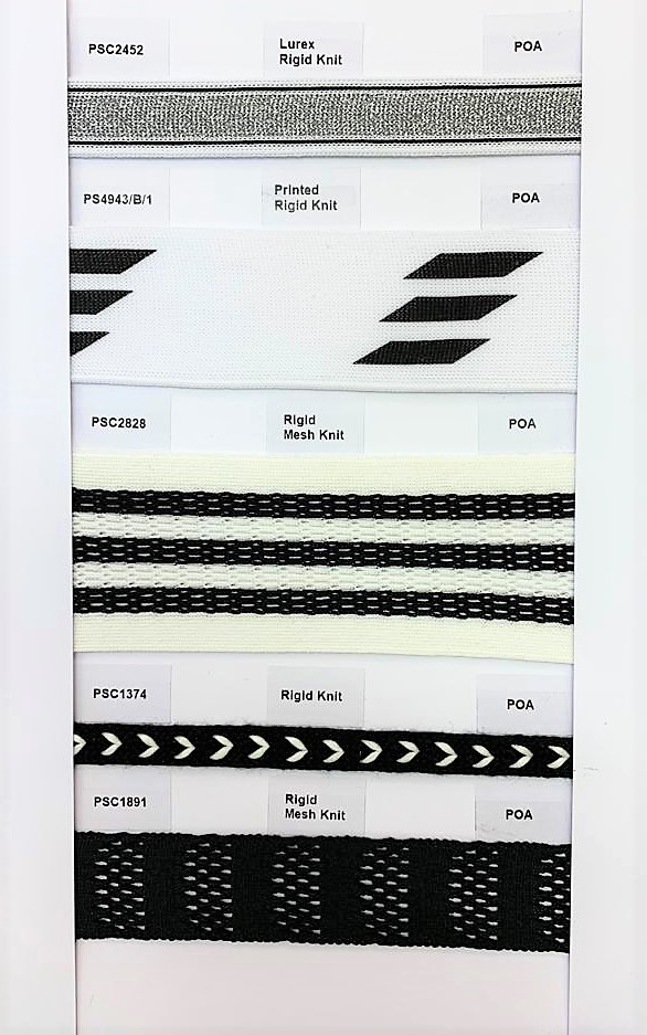 Check out our Products page for more information on our Knitted Trims