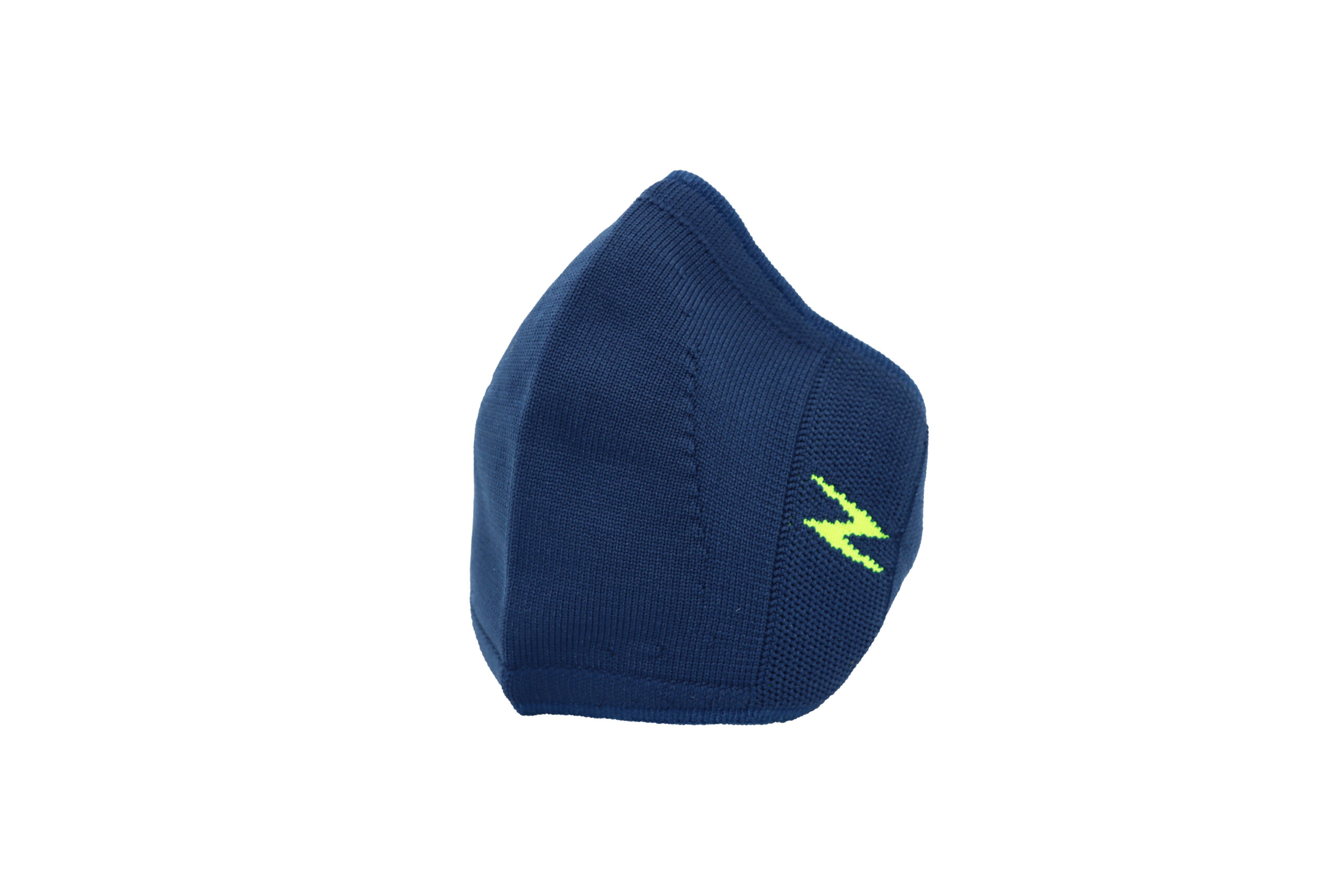 Blue reusable face covering
