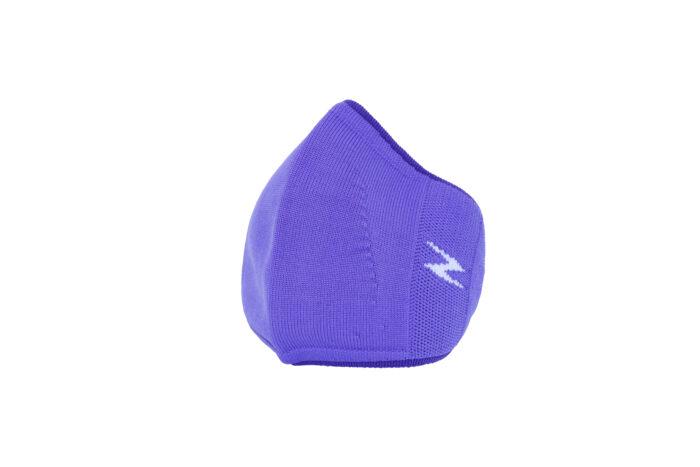 purple reusable face covering